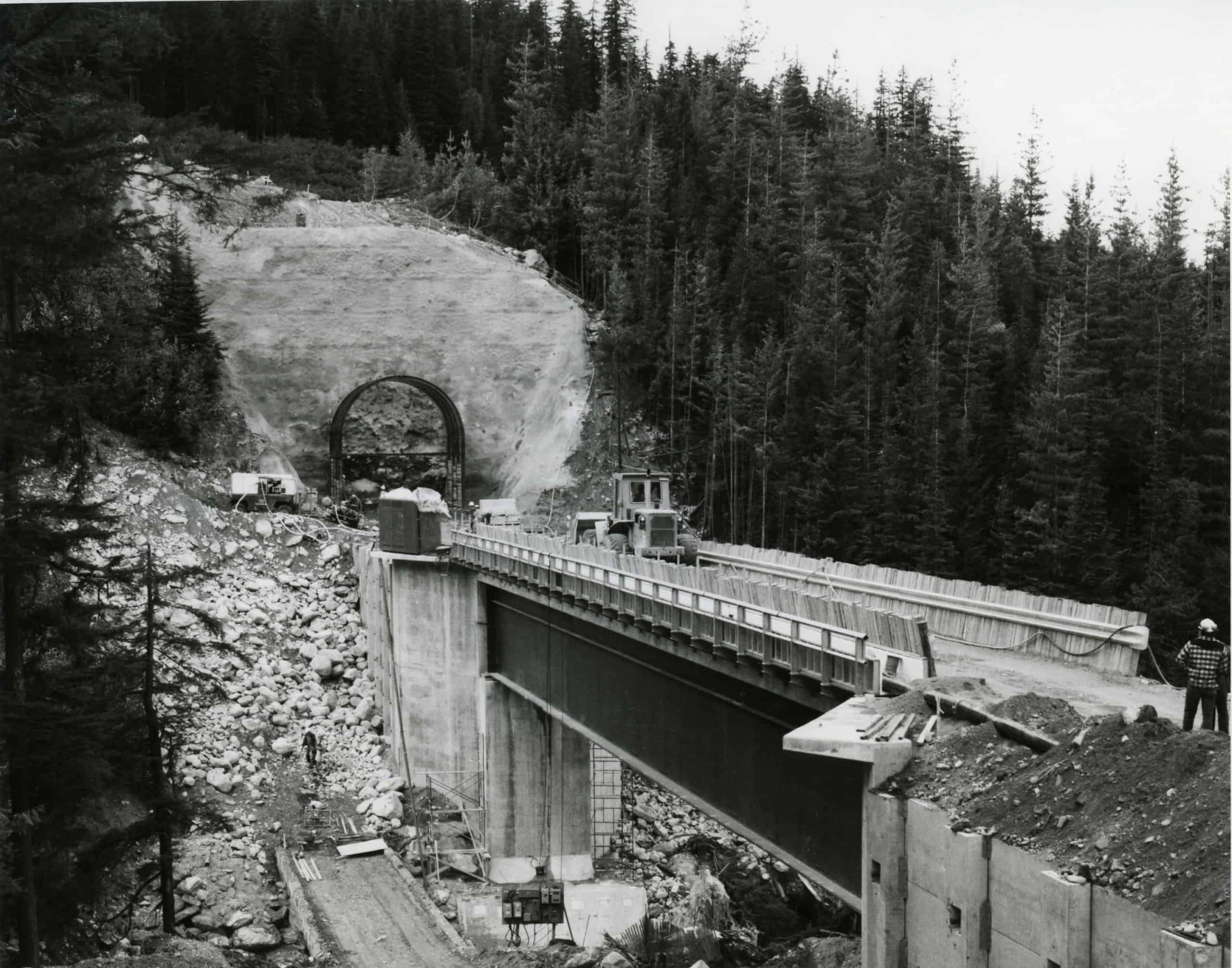 2646 Construction on Macdonald Tunnel, Rogers Pass