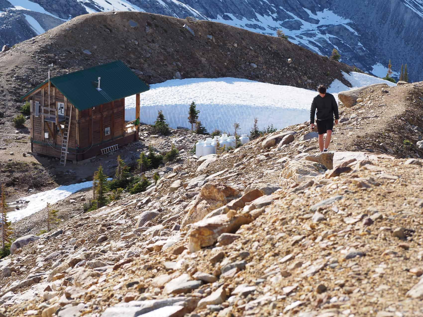 Asulkan Hut Glacier National Park