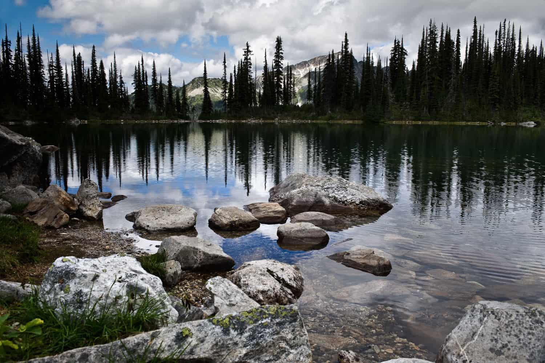 Eva Lake Hiking Mount Revelstoke National Park