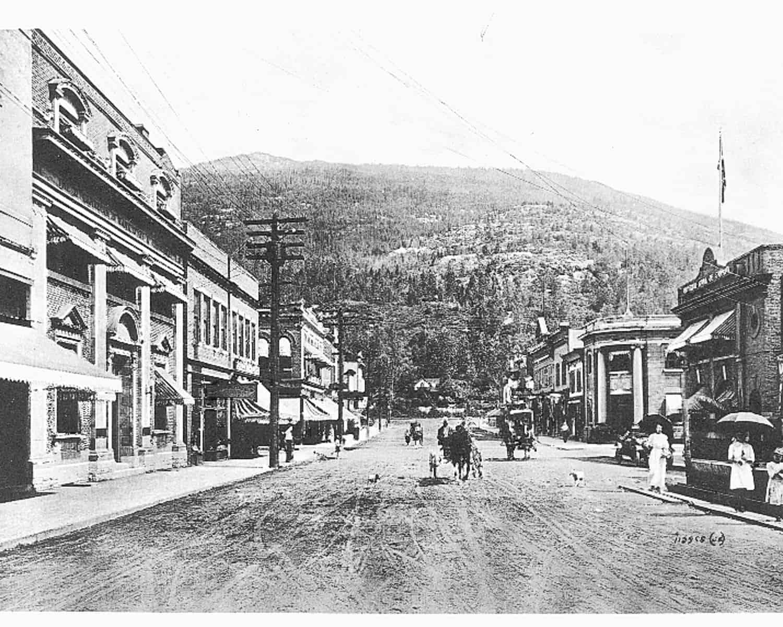 Revelstoke Historical Mainstreet