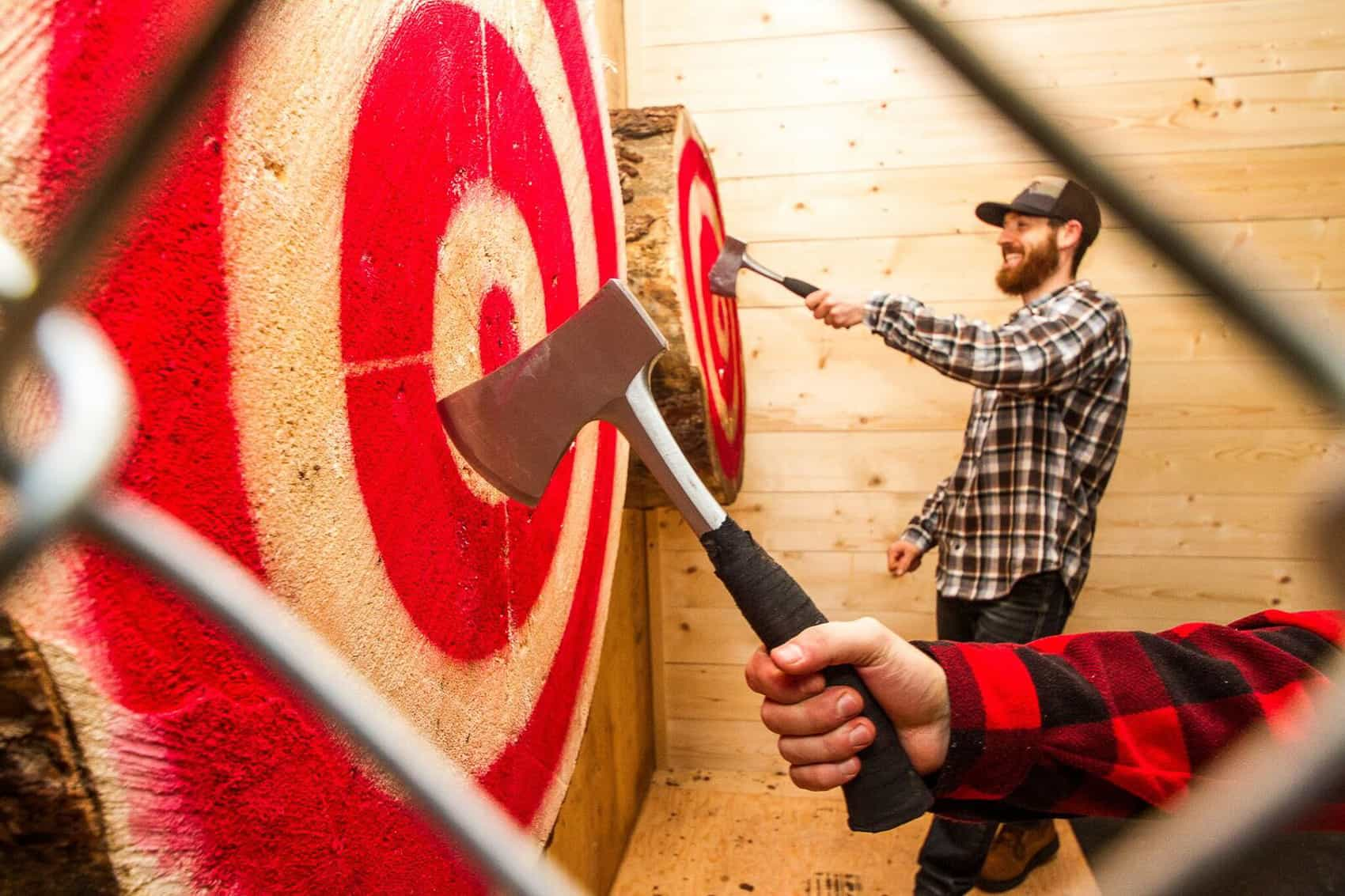 Peak Axe Throwing Revelstoke